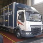 הצמדת משאיות למשלוחים לעסקים בכל הארץ